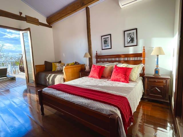 Quarto 3 - Suíte Master (1 cama de casal e 1 cama de solteiro)