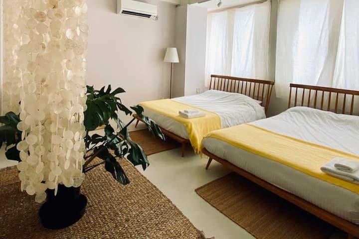 [Jo-To] LESTEL NAHA 那覇市国際通りのオシャレなホテル個室(無料WIFI)