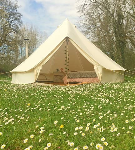 STAR 5m Belle tent for a romantic stay