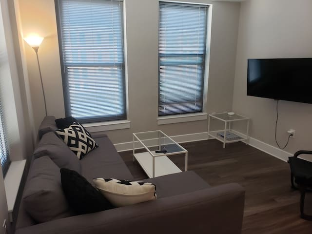 Beautiful pent city apartment
