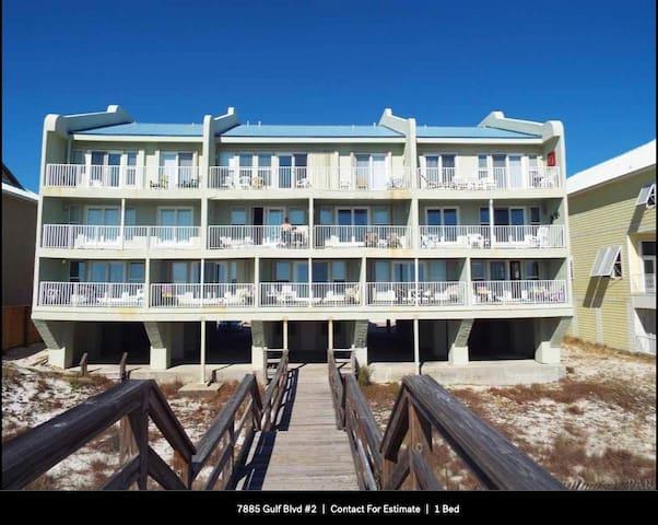 Ocean Front Condo in Navarre Beach, Florida