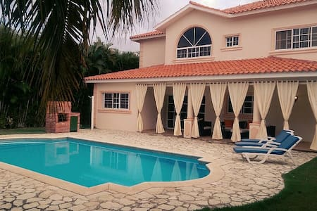 Luxury Golf Villa With Private Pool - Playa Juan Dolio