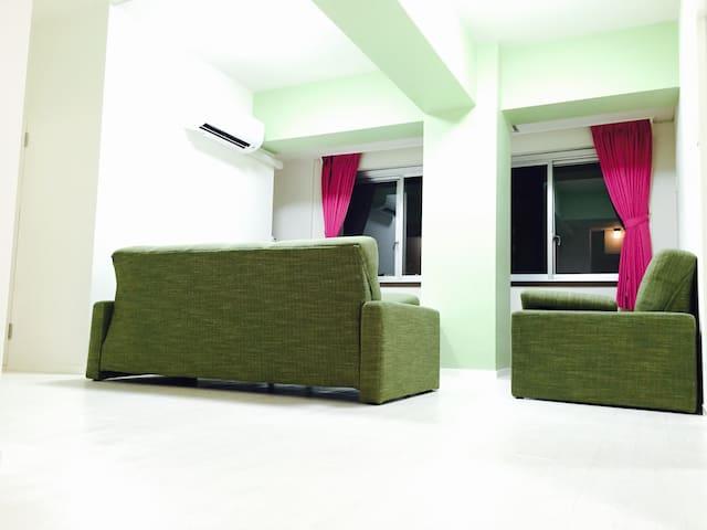 Namba BIG Apartment - up to 10 pax 501 - Naniwa-ku, Ōsaka-shi - Apartamento