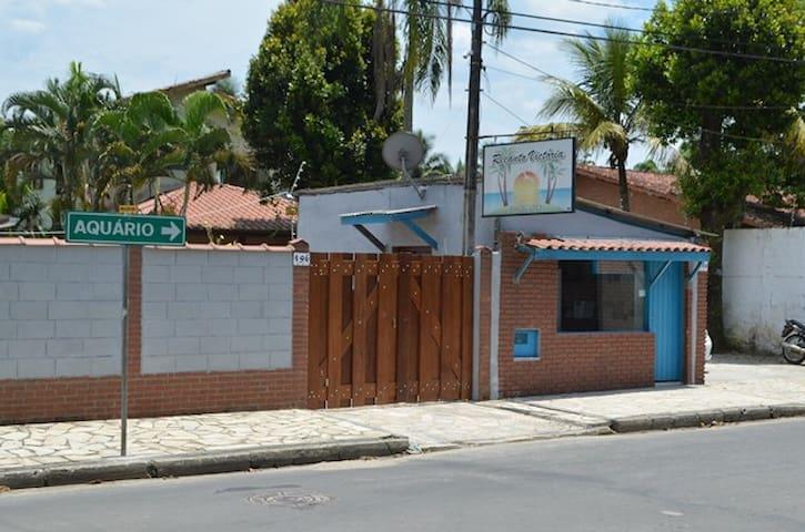 Pousada em Ubatuba - Recanto Victória - 烏巴圖巴 - 家庭式旅館