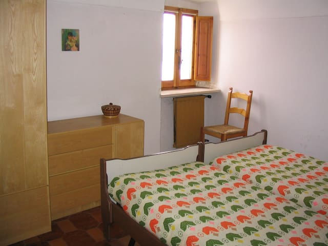 Stanza da letto primo piano con vista panoramica