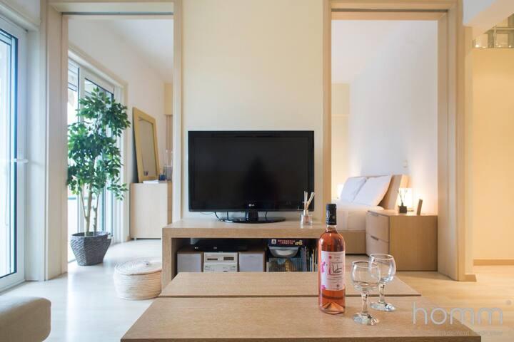 40m² homm Renovated Apartment in Kavouri beach
