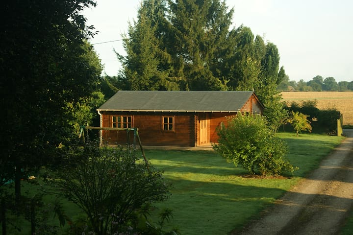 Confortable chalet en Normandie - Martainville