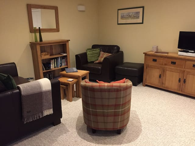 Squirrel Apartment, Carrbridge -cosy & comfortable - Highland - Daire
