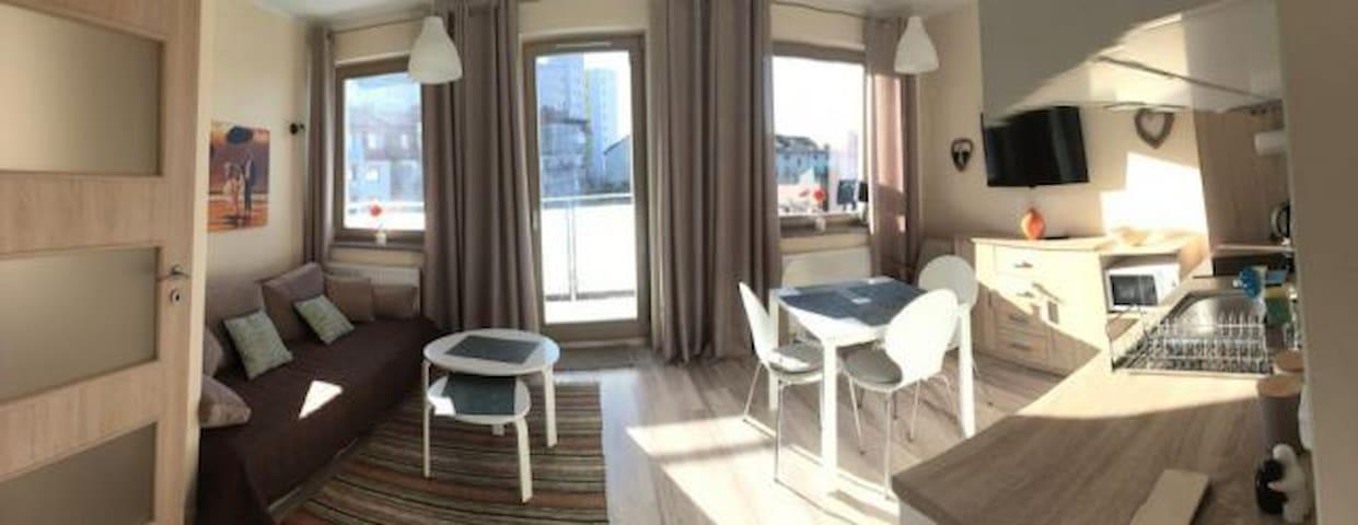 Komfortowy apartament -  2 pokoje