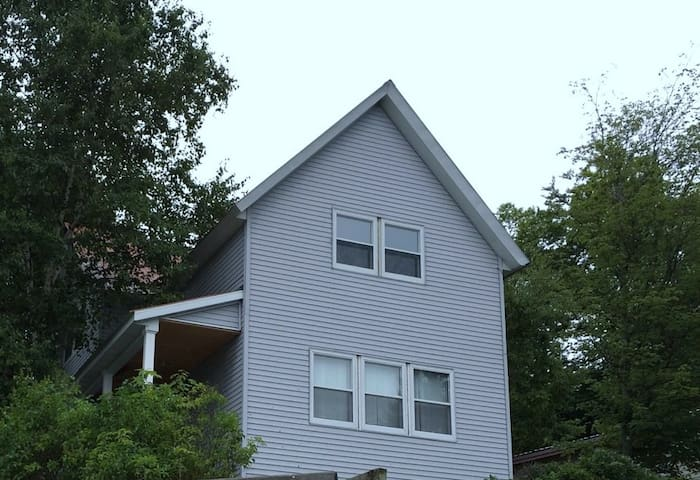Large Munising Home Superior views of Grand Island