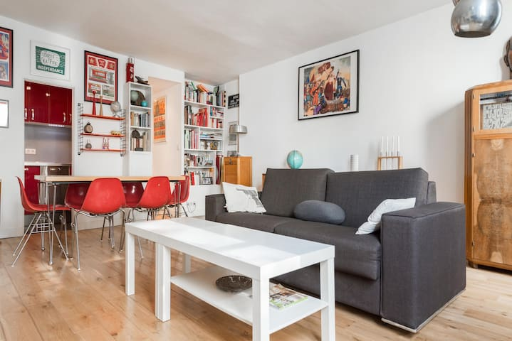 A cozy and peaceful apartment - Central Paris