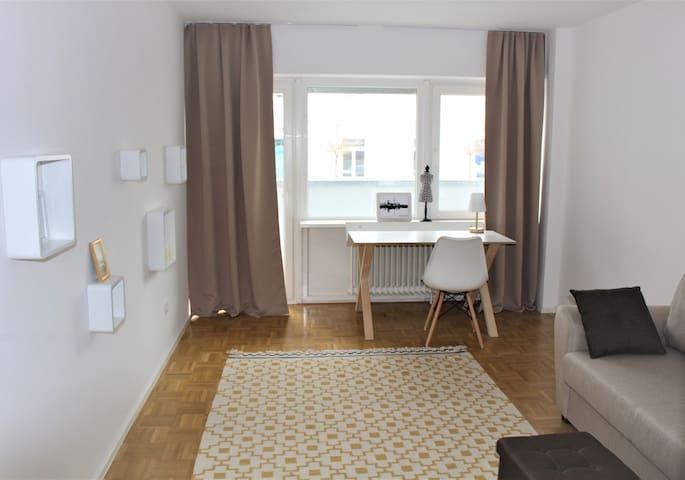 Möbliertes Appartement in München, 8 Min. Zentrum