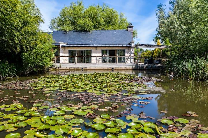 "Maison ""La Lagune"" 4 pers - accès piscine & spa"
