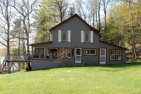 Beautiful Vermont Lakehouse Cabin - Elmore - Srub