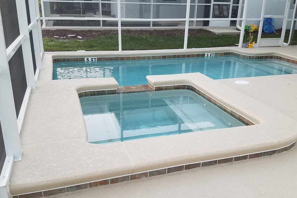 pool in home