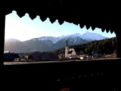 Neu:Wohnung im Kärntner Bauernhaus in Panoramalage