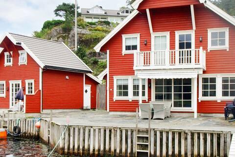 11 persoons vakantie huis in Hebnes