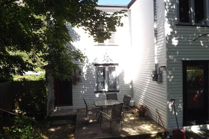 Traditional 120-year-old 2-storey Salt Box home.
