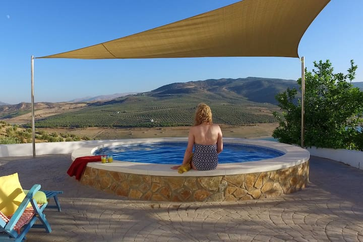 The pool and views