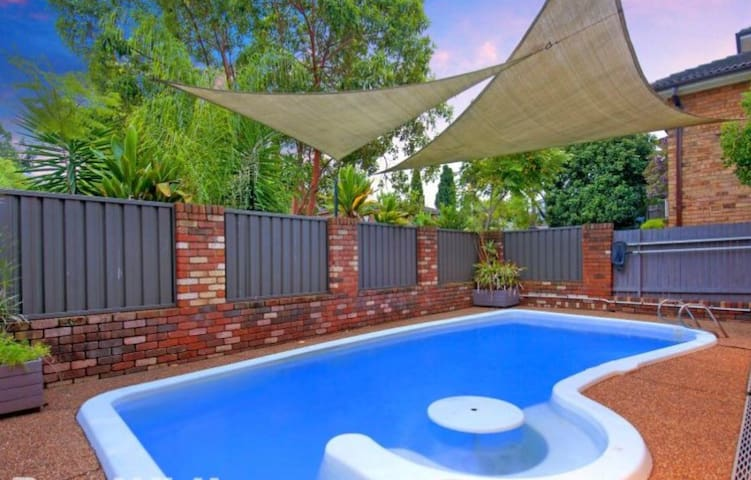 Swimming Pool  - BNB on TV Show 'A Current Affair'