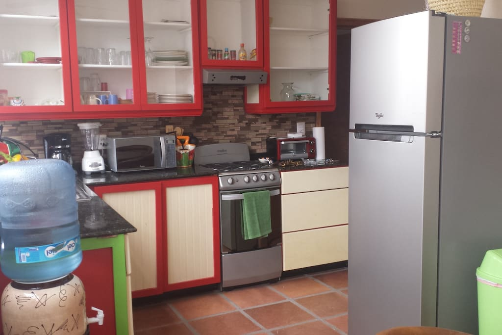 Complete functional kitchen