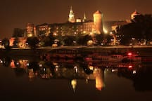 Wawel Castle by Night