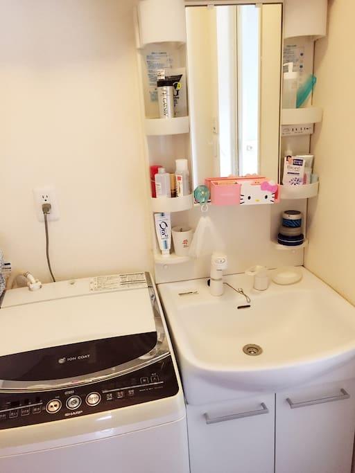 洗衣机 洗面台
