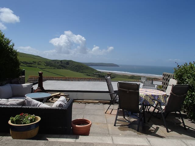 Falbala - The house with amazing views - Woolacombe