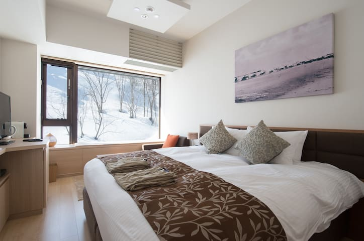 Ki Niseko: Hotel Room Resort Side - Kutchan - Hotel boutique