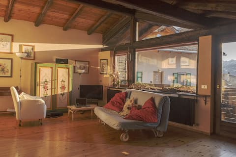 Beautiful and cozy three-room apartment Val di Fiemme