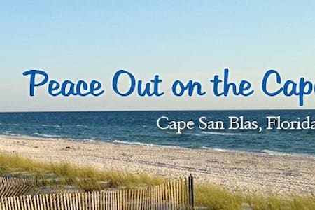Peace Out on the Cape - Cape San Blas - Şehir evi