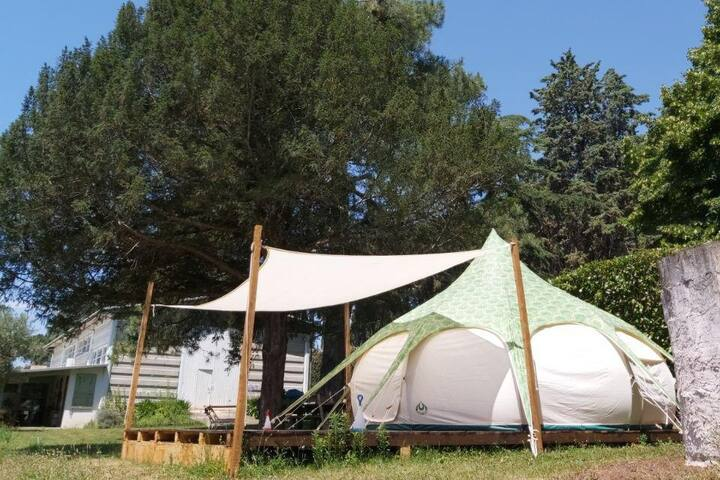Tiny Secret Glamping a stone's throw from Rome