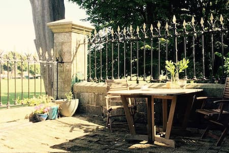 Cosy double: vintage Victorian townhouse on park. - Plymouth - Reihenhaus