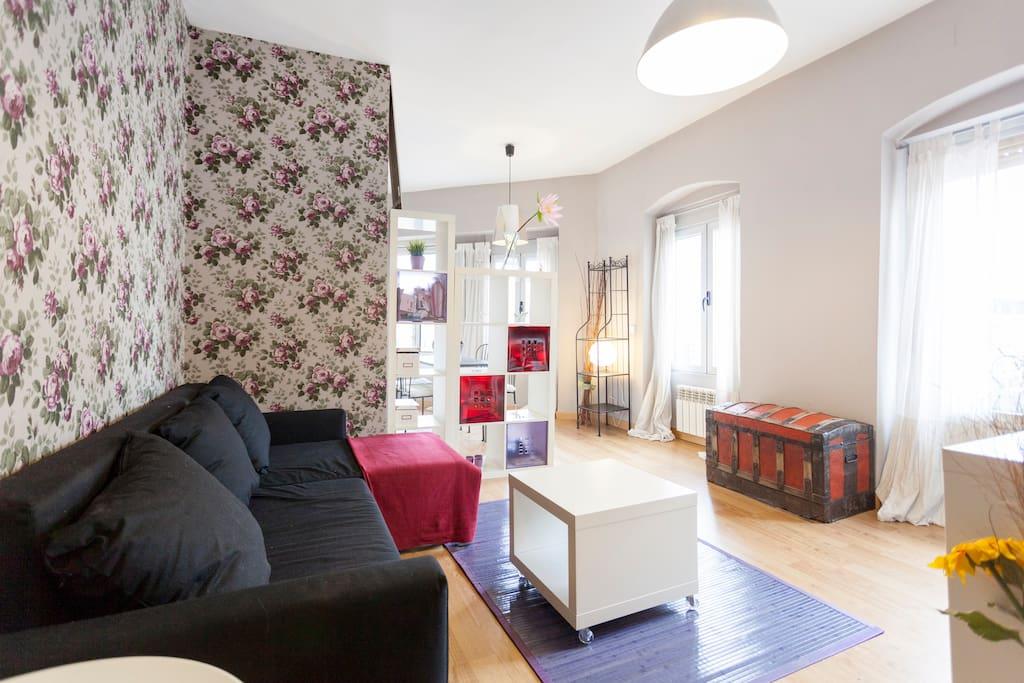 Piso con encanto chamber ponzano apartamentos en for Pisos en chamberi madrid