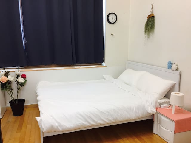 ◎near station/self check-in◎ nice&cozy duplex room