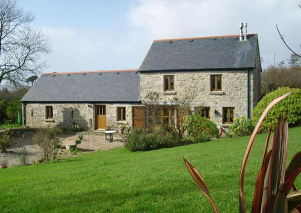 Trevarno Barn is an enchanting detached property set in 20 acres