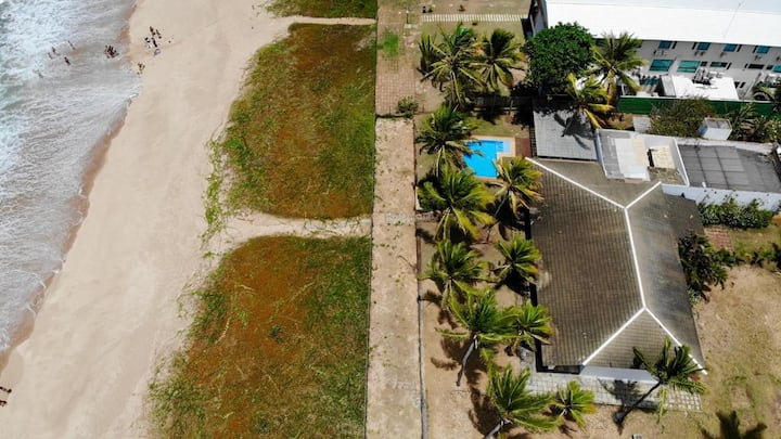 Linda Casa Beira Mar em Itacimirim