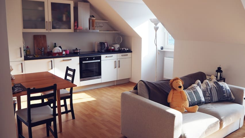 Cosy spacious room for 2 - 3 in Dusseldorf