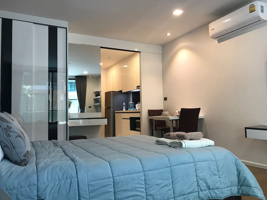 34 sqm cozy fully furnished room