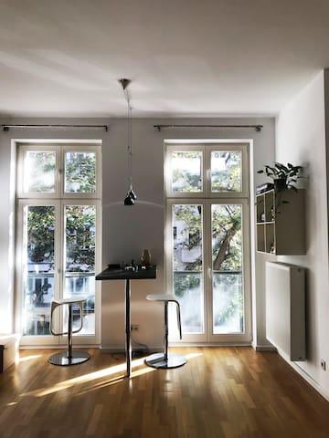 Modern 1-bed Apt. with balcony. Friedrischain
