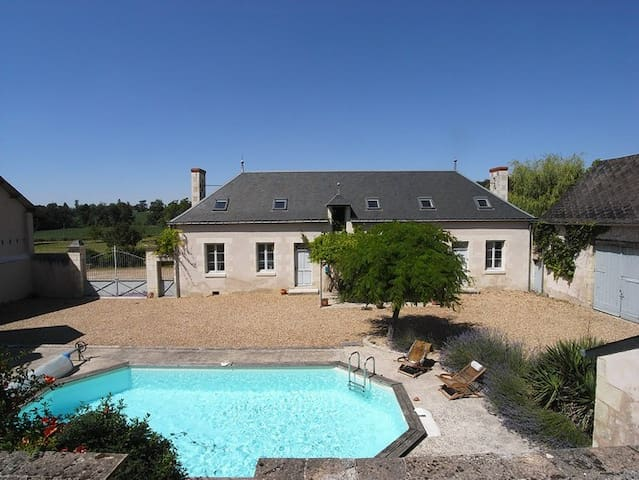Farmhouse in the Loire Valley on 1.3 hectares!