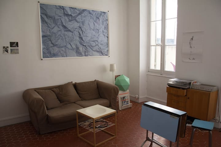 Appartement spacieux avec grande terrasse