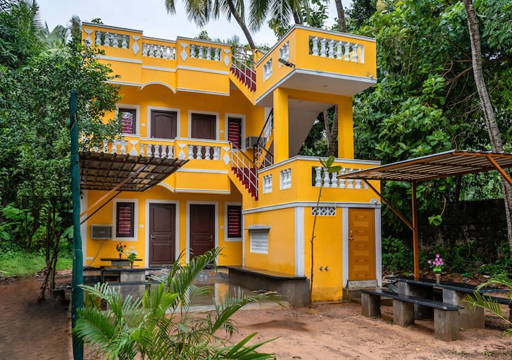 *1BRoom with Swimming Pool near Auroville *
