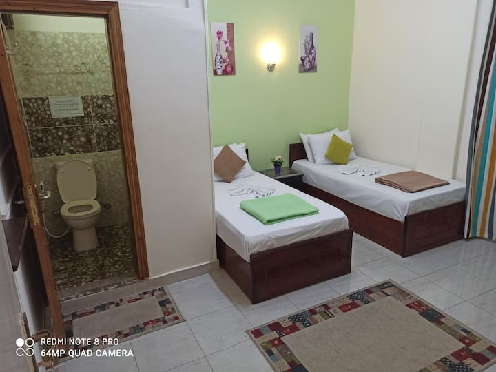 Private rooms in the heart of Cairo