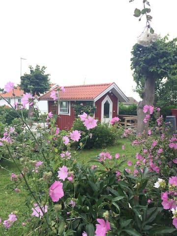 Stuga centralt i Strömstad
