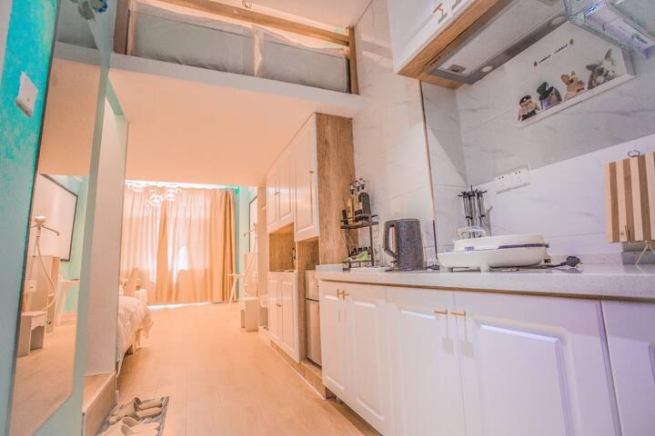 小清新Loft公寓