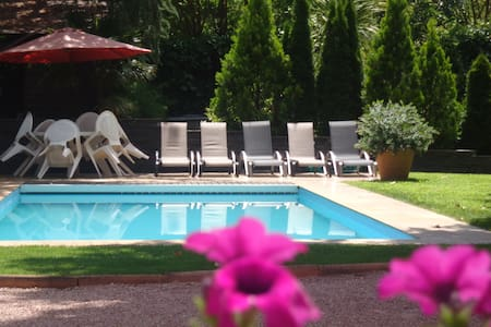 25 min from Madrid. Pool & garden - Galapagar - Rumah