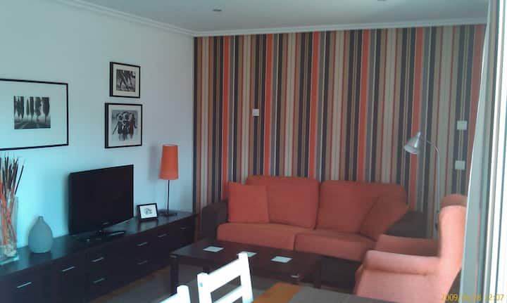 """Apartment """"Horreo"""", downtown Cangas de Onis."""