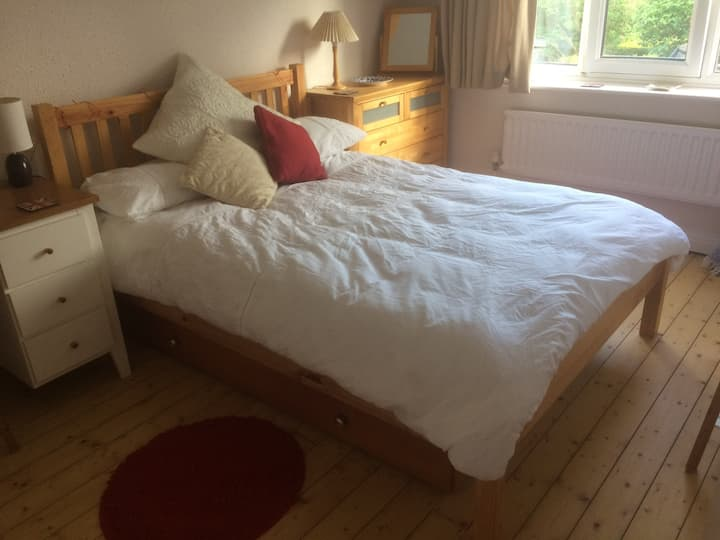 Entire house - double bedroom. Quiet and cosy.