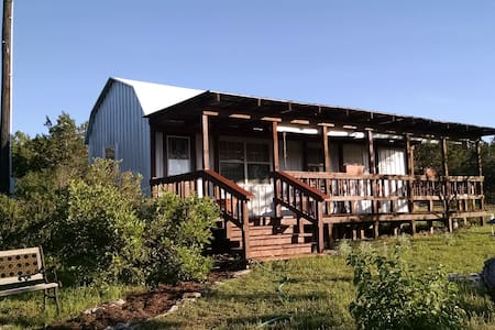 Sunset Retreat - A Quaint Hill Country Cabin - Bulverde